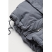Куртка пуховая H&M L, серый (60634)