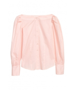 Блуза H&M, персиковий (57184)