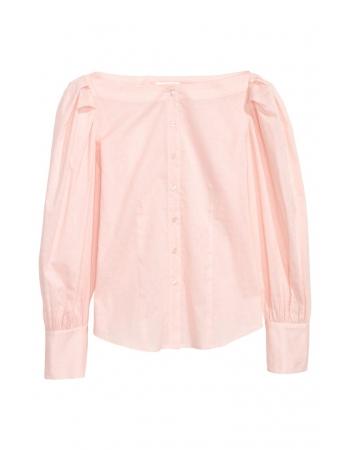 Блуза H&M 34, персиковый (57184)