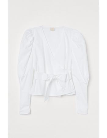 Блуза H&M 36, белый (57882)