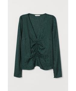 Блуза H&M, зелений (57261)