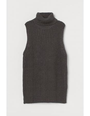 Жилет H&M XS, темно серый (60753)