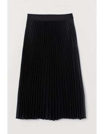 Юбка H&M 38, черный (49397)