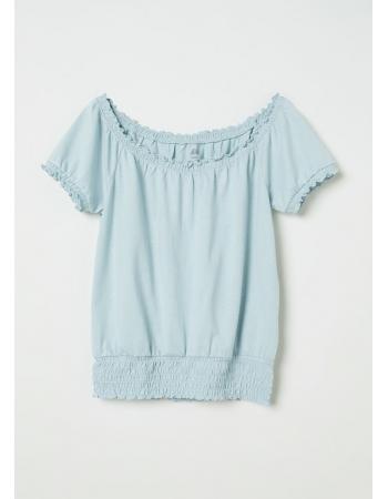Блуза H&M 146 152см, мятный (36607)