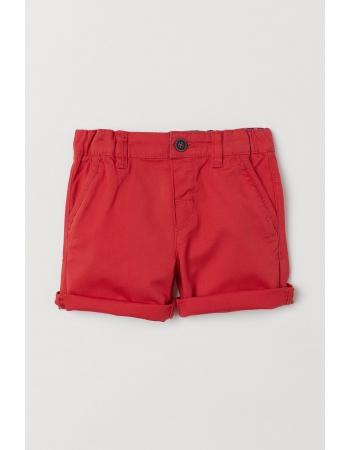Шорты H&M 92см, красный (49956)