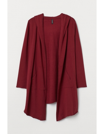 Кардиган H&M 4XL, бордовый (61000)