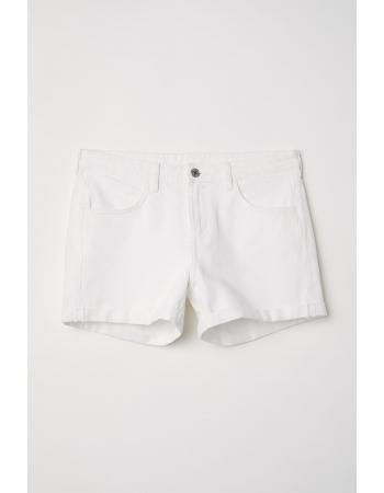 Шорты H&M 36, белый (17194)
