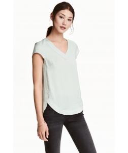 Блуза H&M, світло сірий (46370)