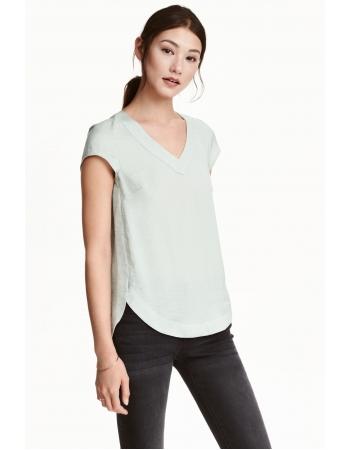 Блуза H&M 32, светло серый (46370)