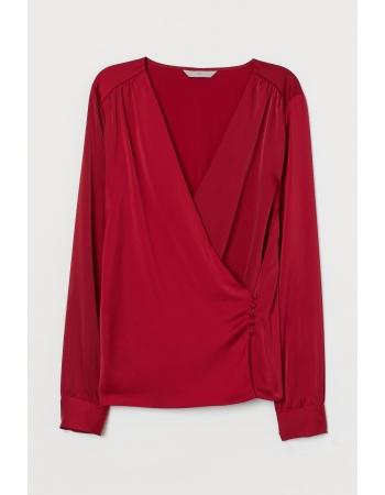 Блуза H&M 34, красный (55897)