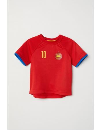Футболка H&M 74см, красный (28135)