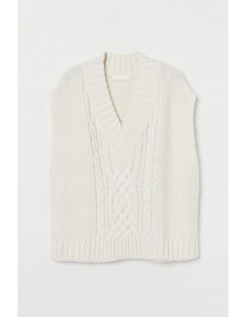 Жилет H&M XS, белый (59760)