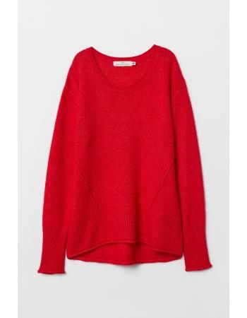 Джемпер H&M XS, красный (43880)