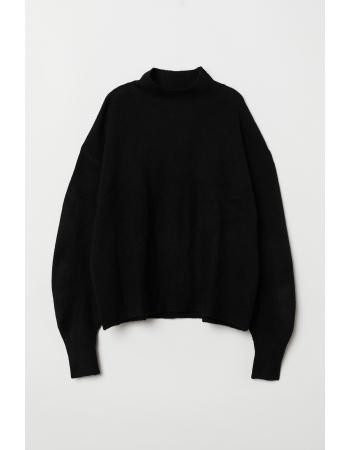 Джемпер H&M XS S, черный (43873)