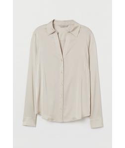 Блуза H&M, світло бежеве (51716)