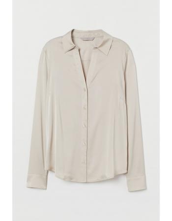 Блуза H&M 34, светло бежевый (51716)