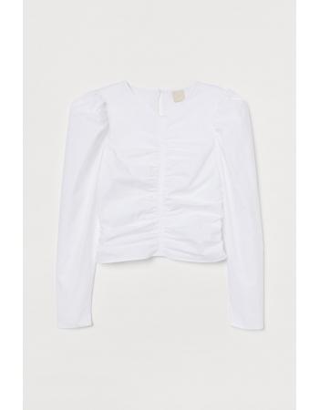 Блуза H&M 32, белый (48451)