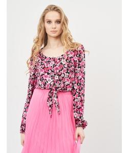 Блуза H&M, чорно рожевий кольори (53348)