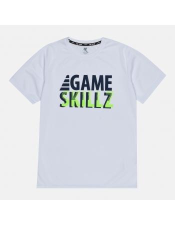 Спортивная футболка H&M 170см, белый (52439)