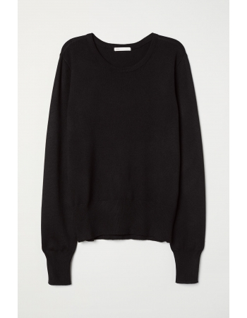 Джемпер H&M XXS, черный (47284)