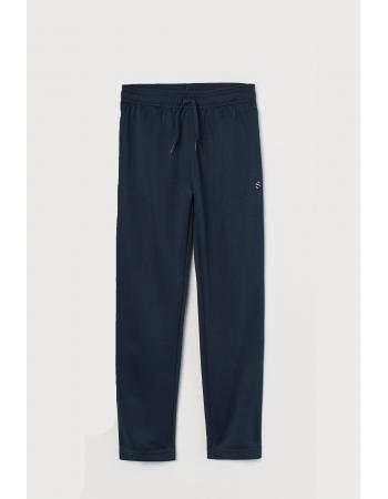 Спортивные брюки H&M 122 128см, темно синий (55526)