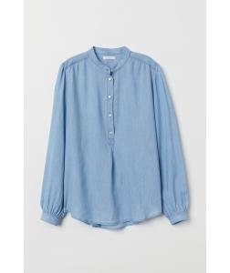 Блуза H&M, блакитний (40907)