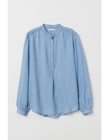 Блуза H&M 32, голубой (40907)