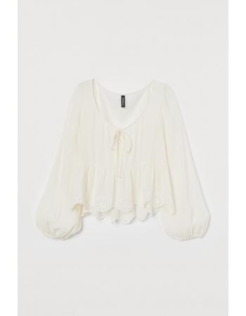Блуза H&M 44, белый (48084)