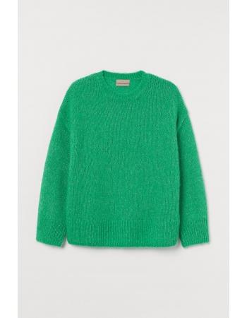 Джемпер H&M 3XL, зеленый (60500)