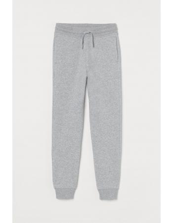 Спортивные брюки H&M 170см, серый меланж (3005 5945412)