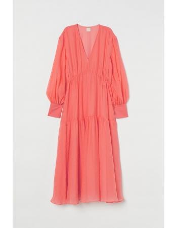 Платье H&M 34, коралловый (58624)