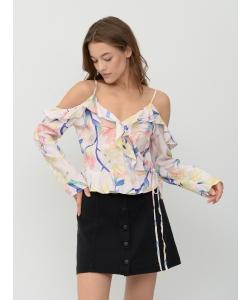 Блуза H&M, білий кольори (43004)