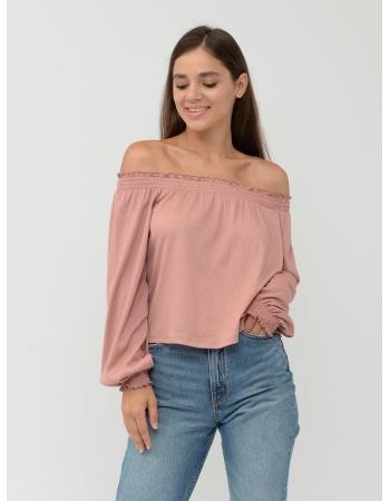 Блуза H&M S, розовый (43267)