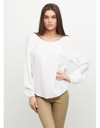 Блуза H&M 36, белый (252)