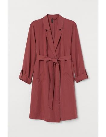 Плащ H&M 3XL, темно розовый (57460)