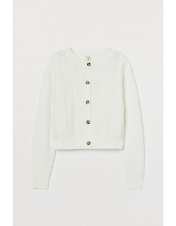 Кофта H&M M, белый (61734)