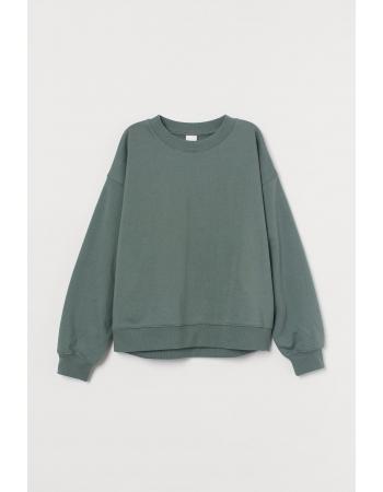 Свитшот H&M XL, светло зеленый (61735)