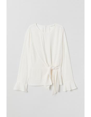 Блуза H&M 36, белый (48745)