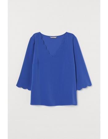 Блуза H&M 32, синий (46971)