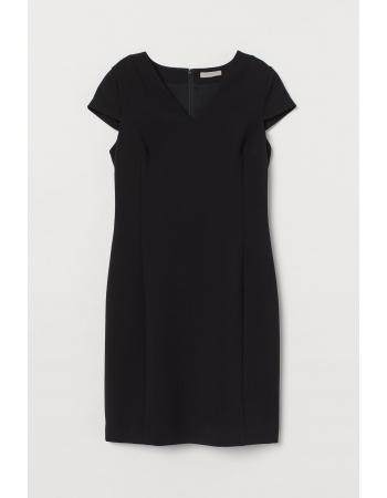 Платье H&M 46, черный (61787)