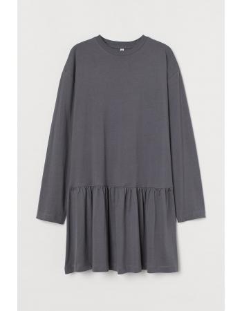 Платье H&M M, темно серый (61807)