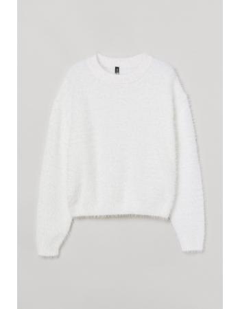 Джемпер H&M M, белый (61811)
