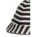 Кепка H&M 50см, бело черный полоска (5649986)