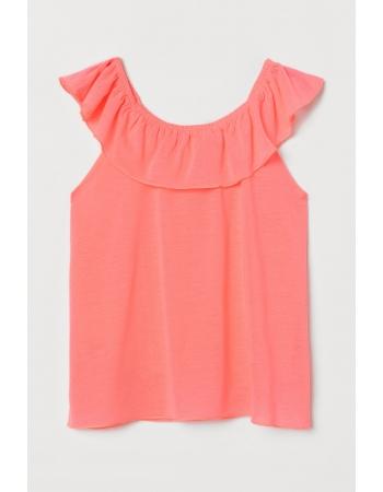 Блуза H&M 122 128см, розовый (54789)