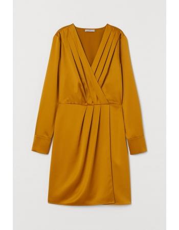 Платье H&M 36, горчичный (61772)
