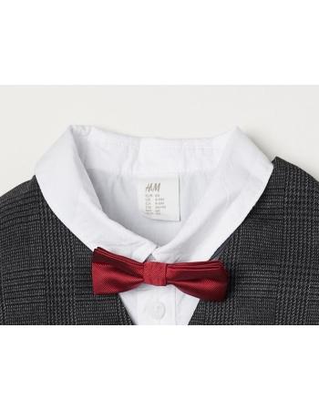 Бабочка H&M One Size, бордовый (43056)