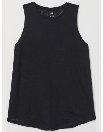 Спортивная футболка H&M XS, черный (36856)