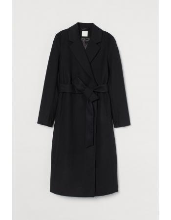 Пальто H&M 48, черный (60083)