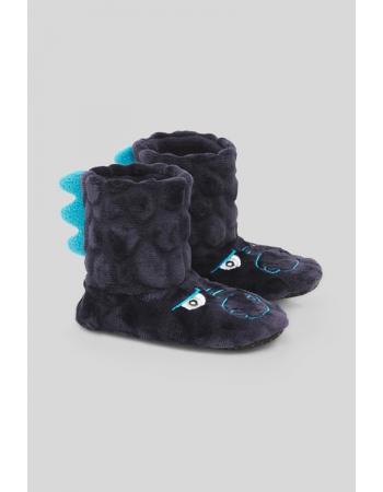 Тапочки C&A 25 26, темно синий (47879)