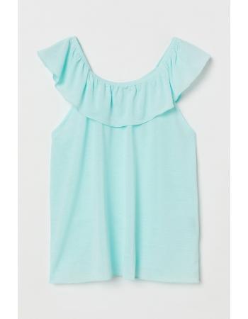 Блуза H&M 98 104см, бирюзовый (53410)